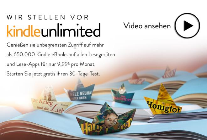 Amazon: Kindle Unlimited startet offiziell in Deutschland