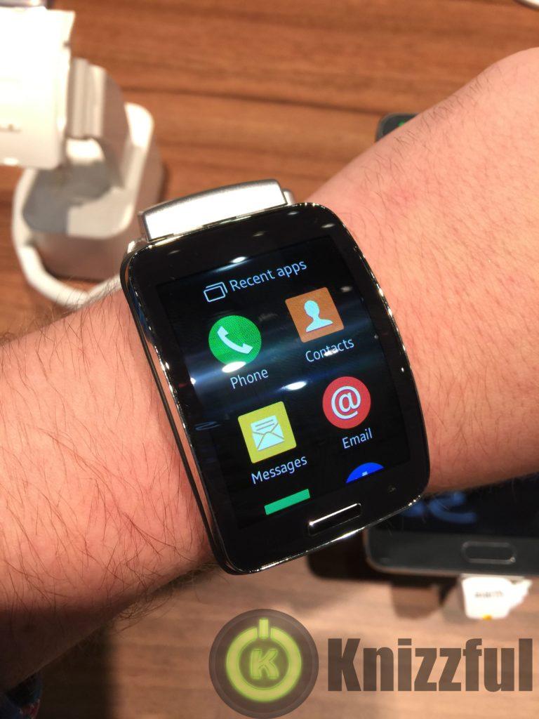 Samsung Gear S Hands On