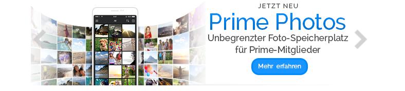 Amazon Prime: Unendlicher Fotospeicher in Deutschland verfügbar