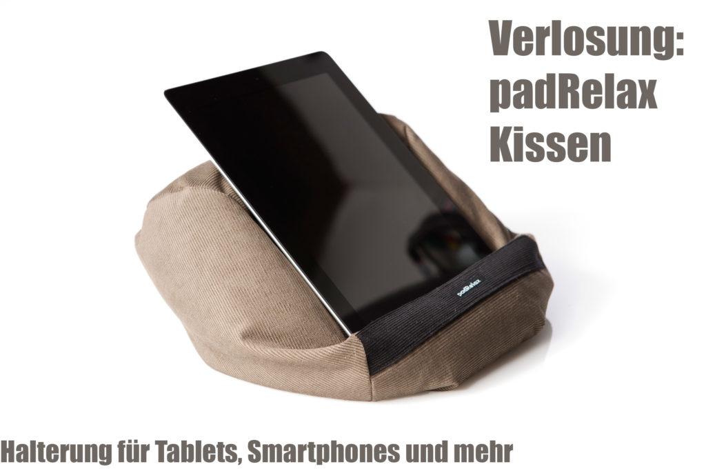 Verlosung: padRelax Kissen nach Wahl + Gewinner