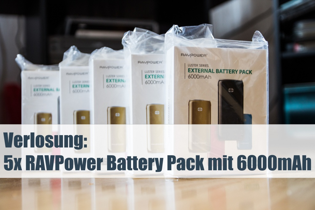 RAVPower Battery Pack