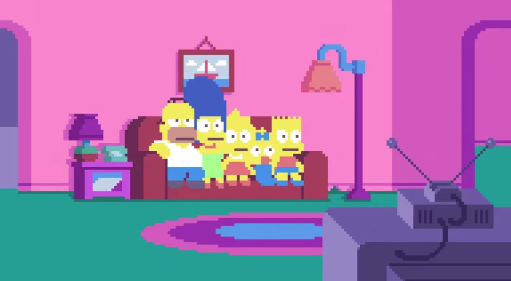 Simpsons Pixel (Intro)