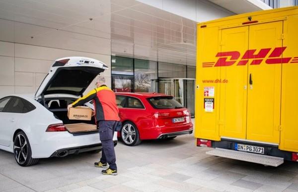 Amazon & Audi: Zustellungen in den eigenen Kofferraum