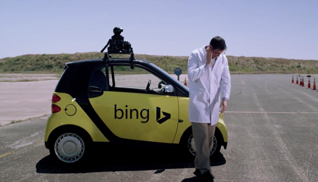 Video: Das selbstfahrende Auto von Bing (Parodie)