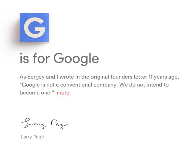 Alphabet: Google und Co bekommen Mutterkonzern