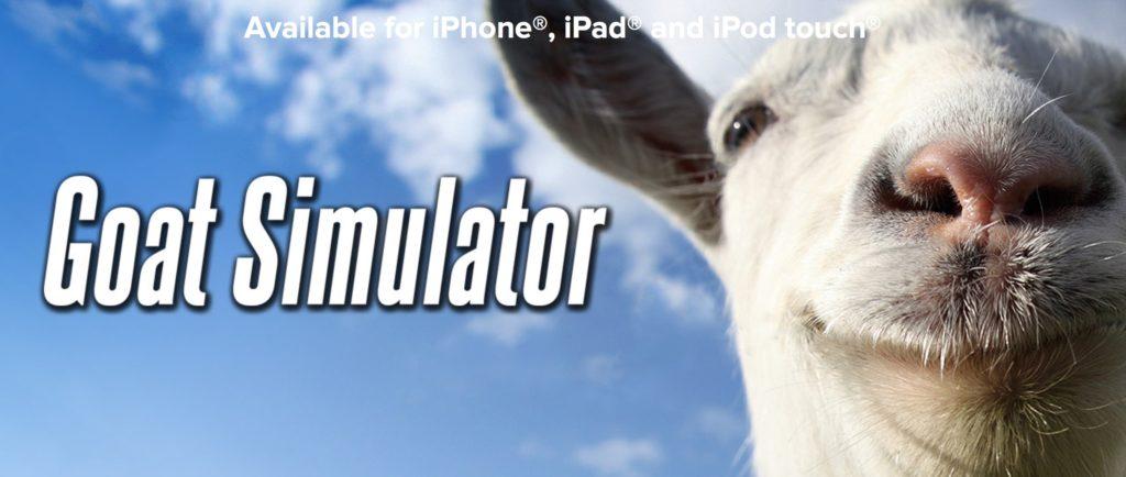 Goat Simulator aktuell kostenlos für iOS