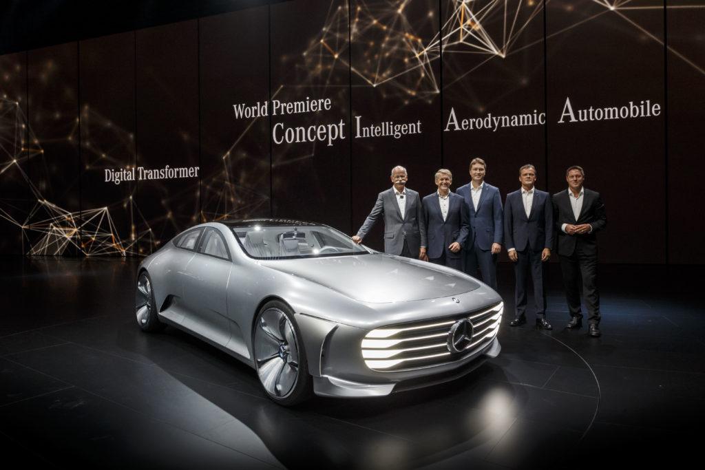 IAA 2015 Mercedes Benz Concept IAA
