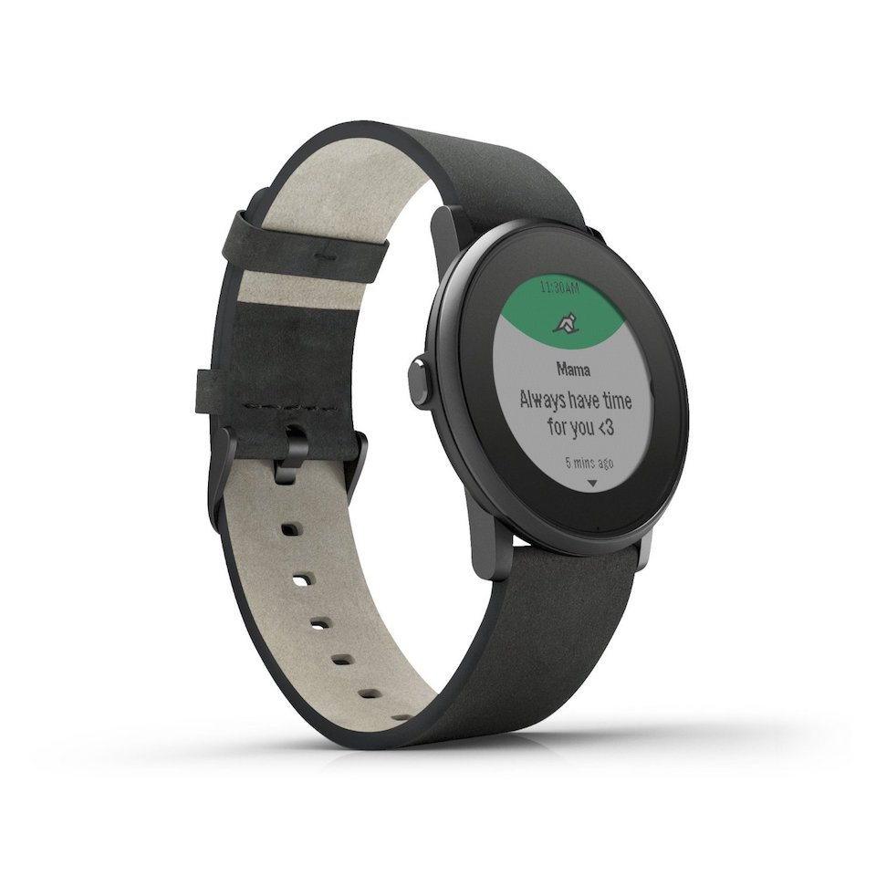 Pebble Time Round vorgestellt