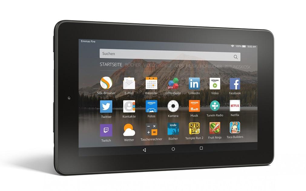 Amazon: Neues Fire 7 für nur 59 Euro