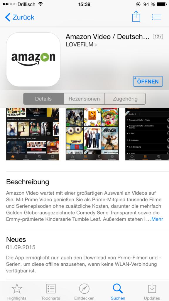 Amazon Instant Video: Offline-Modus ist da!