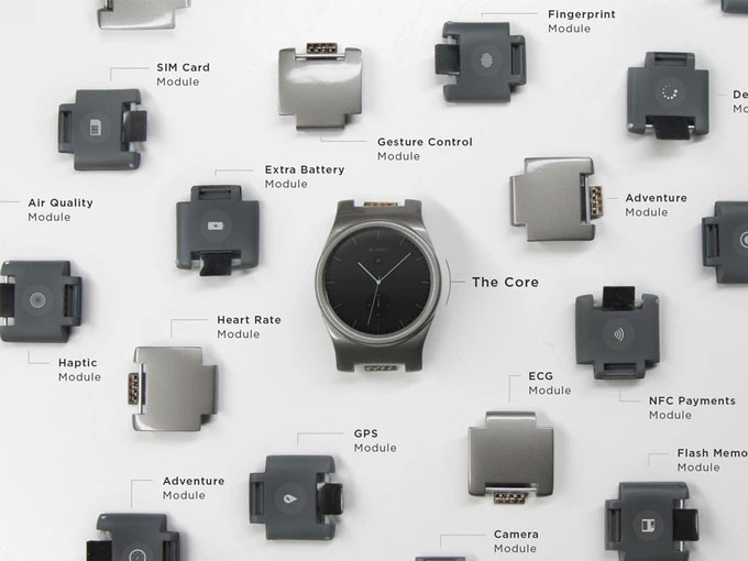 Blocks: Modulare Smartwatch nun auf Kickstarter