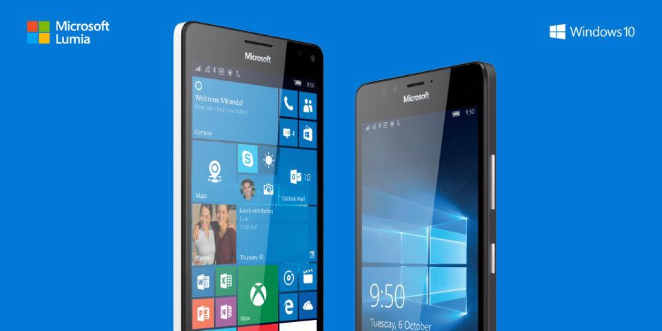 Microsoft: Lumia 950 & Lumia 950 XL offiziell vorgestellt