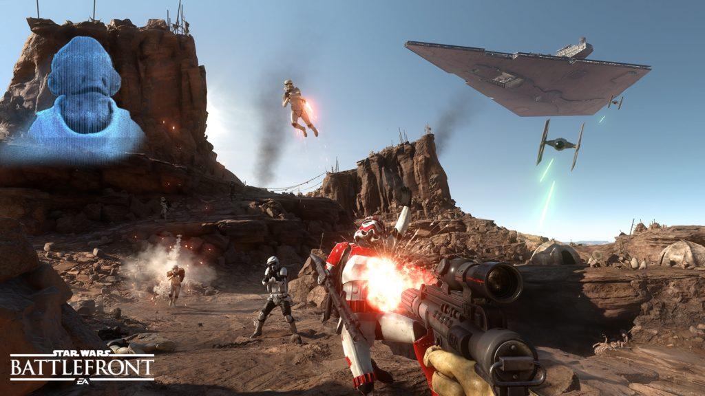 Angezockt: Star Wars Battlefront Beta