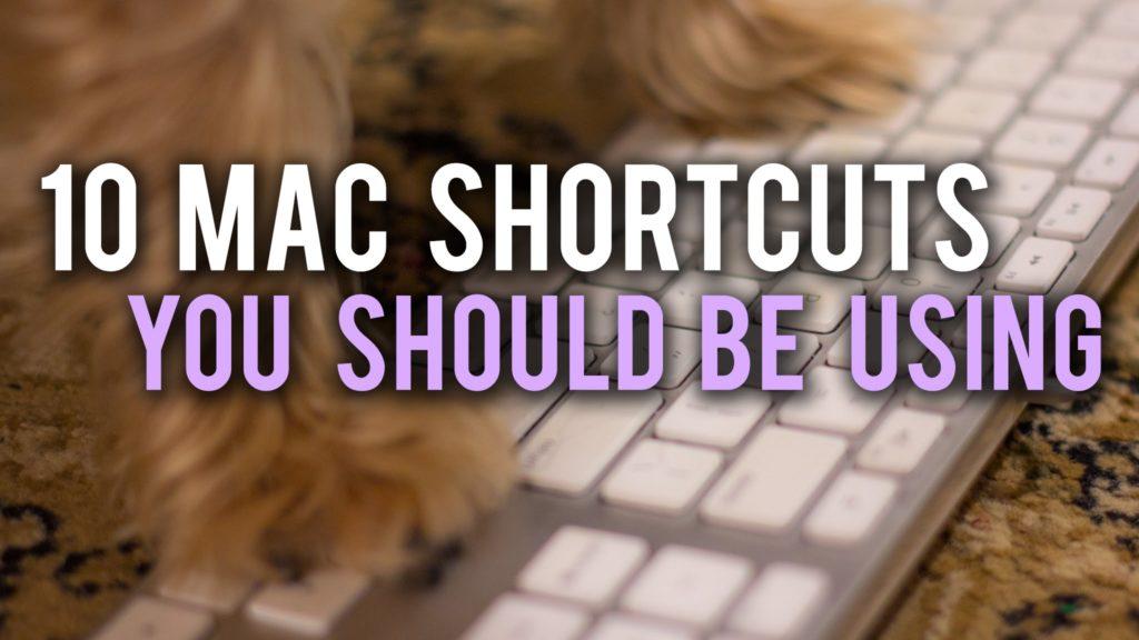 Video: 10 hilfreiche Shortcuts für den Mac