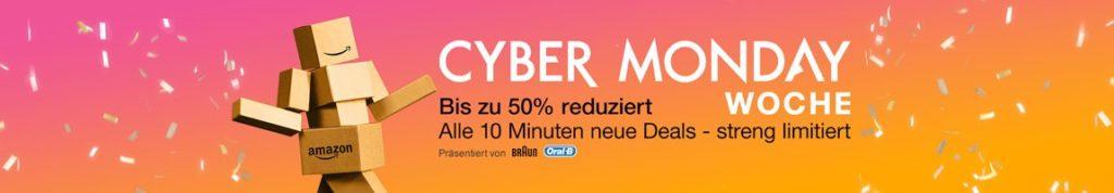 Amazon Cyber Monday: Eine Woche lang alle 10 Minuten ein Angebot