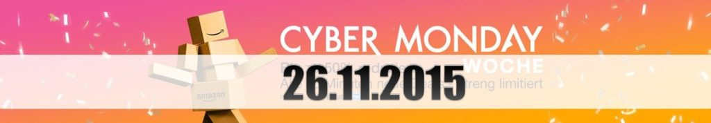 Amazon Cyber Monday: Tagesangebote vom 26.11.2015