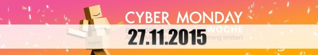 Amazon Cyber Monday: Tagesangebote vom 27.11.2015