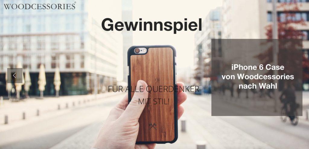 Gewinnspiel: iPhone 6 Case von Woodcessories [+Gewinner]
