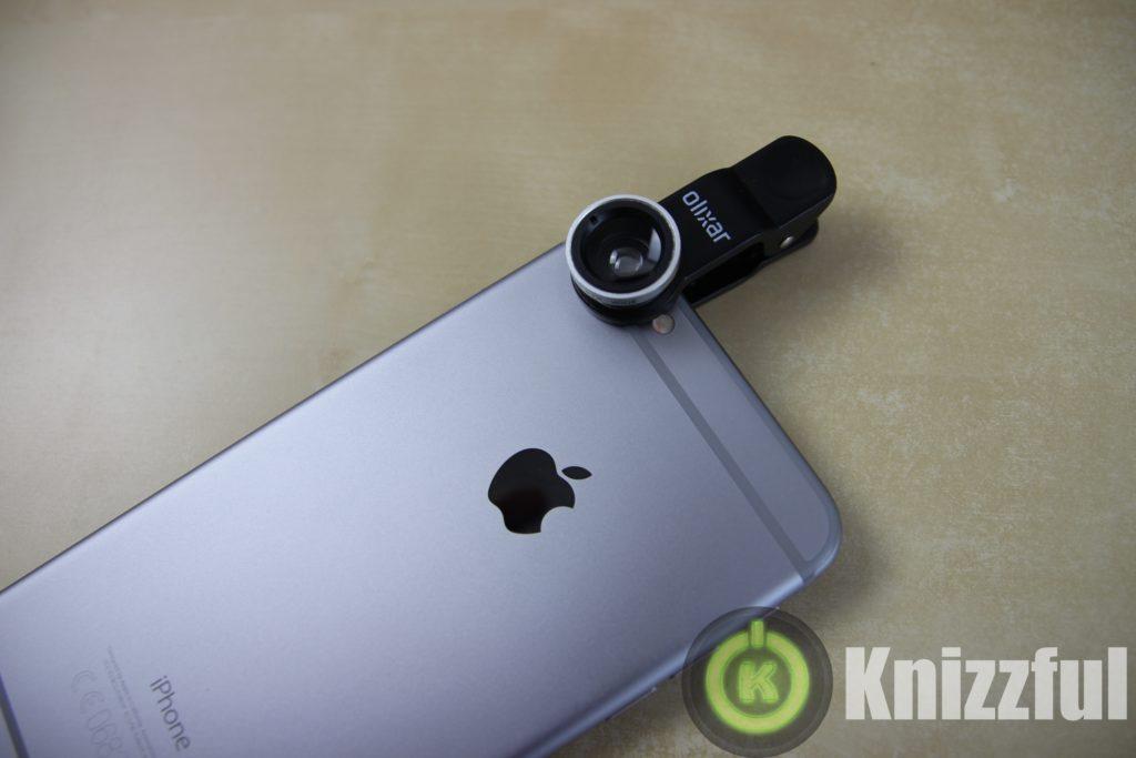 Testbericht: Olixar 3 in 1 Objektivclip für das Smartphone