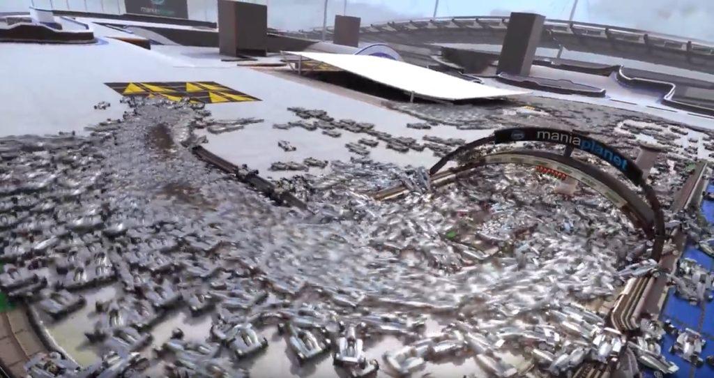 TrackMania: 20.000 Autos fahren gleichzeitig über eine Strecke