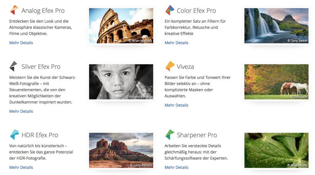 Google: Nik Collection (Bildbearbeitung) jetzt kostenlos