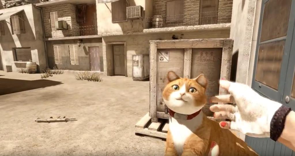 Special Force 2 Katze dient als Waffe