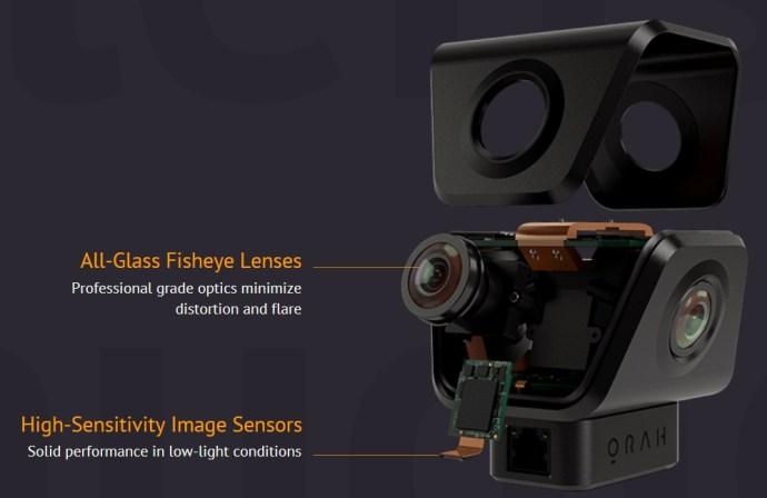 Orah4i ermöglicht 360-Grad-Aufnahmen mit 4K-Streaming
