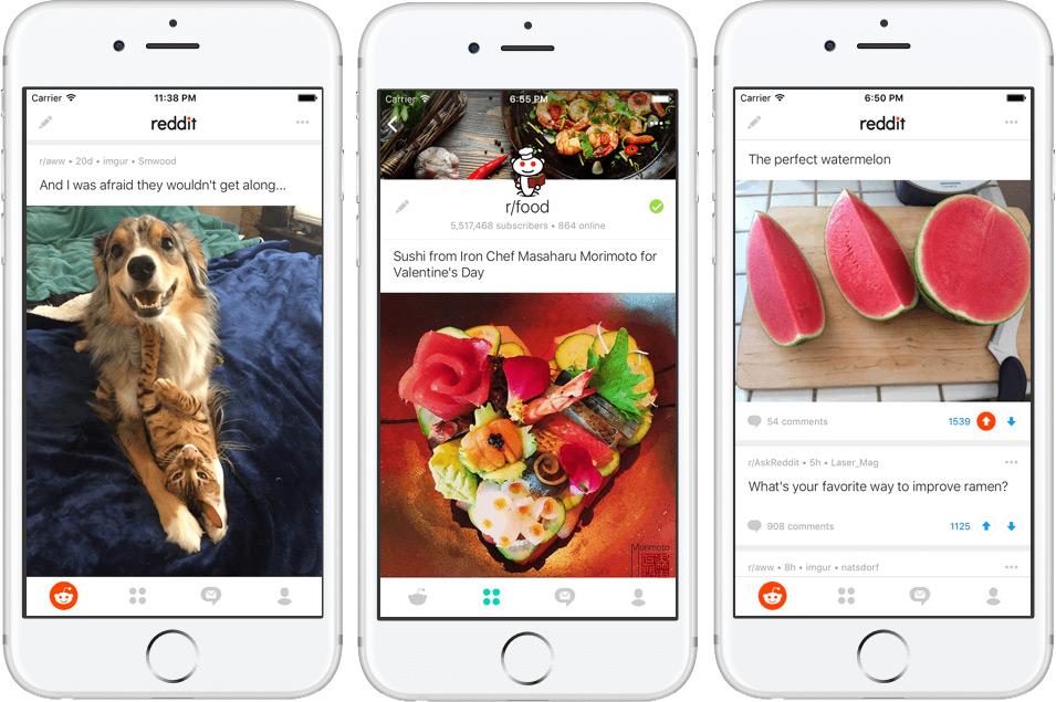 Reddit jetzt mit offizieller App für iOS und Android