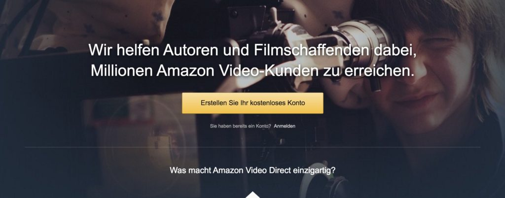 Amazon Video Direct: Eigene Videos platzieren und monetarisieren