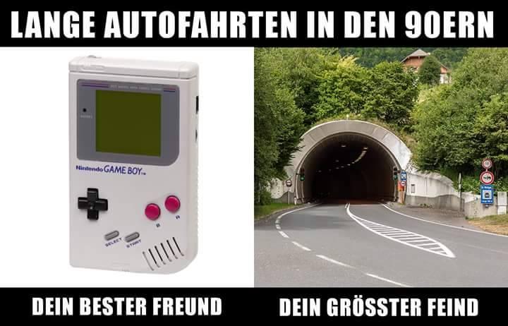 Gameboy Retro Problem mit dem Tunnel