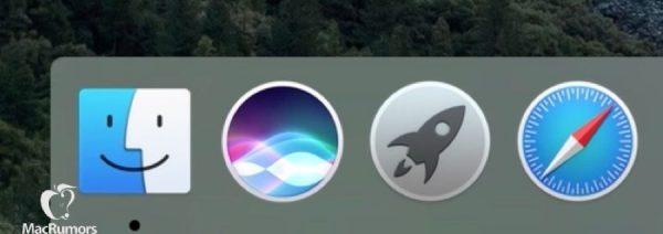 OS X Siri Dock