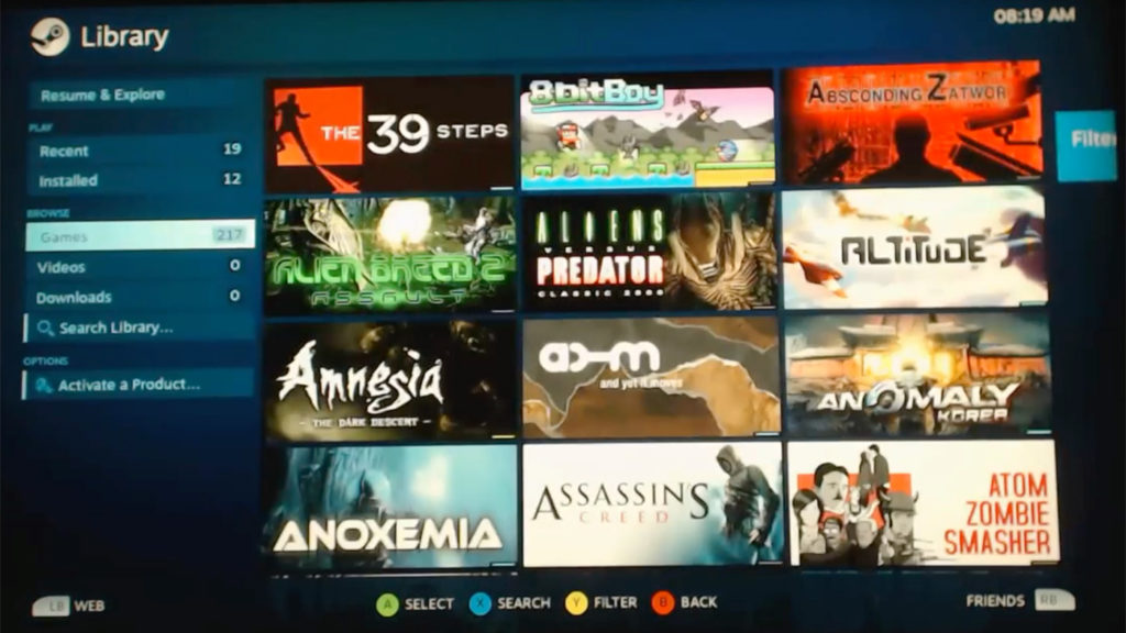 Video: Steam läuft auf PS4
