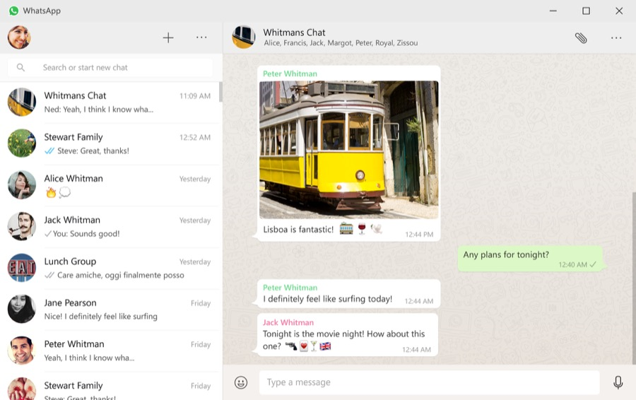 WhatsApp mit eigenem Client für Windows & OS X