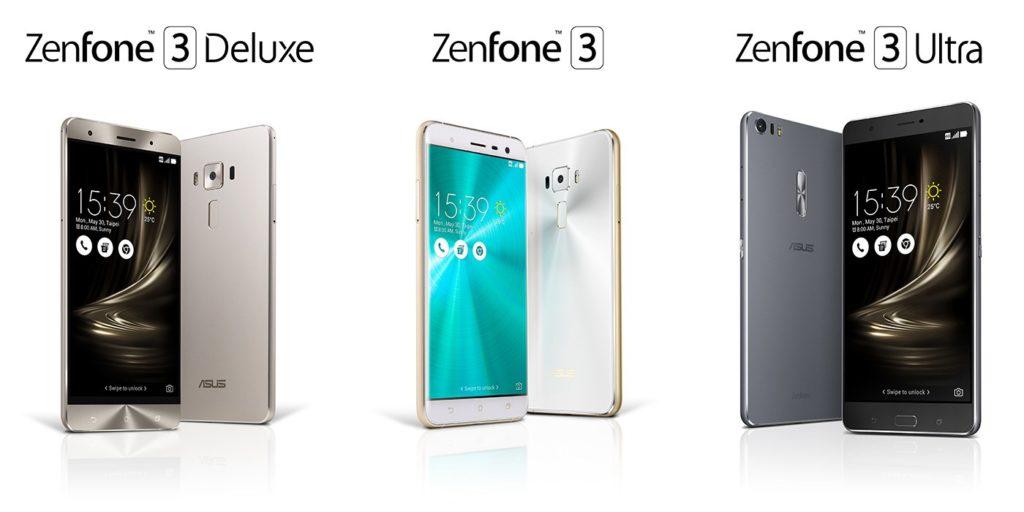 Asus: Zenfone 3 Serie vorgestellt