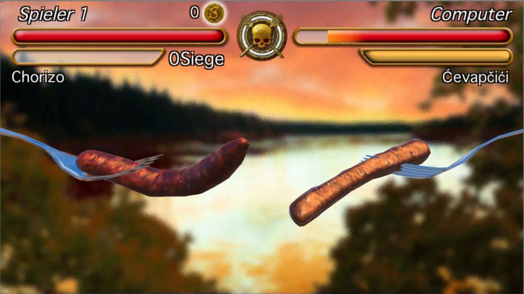 Sausage Legend: Krieg der Würstchen für iOS und Android