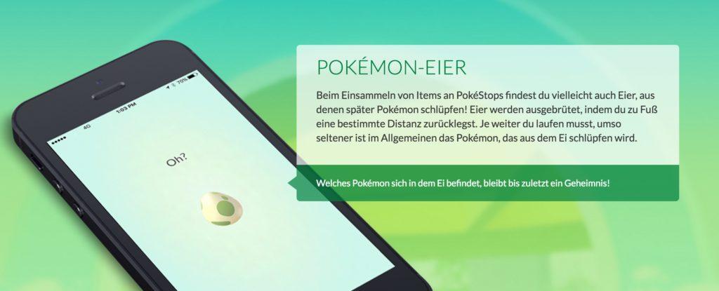 Pokémon GO Eier-Glitch