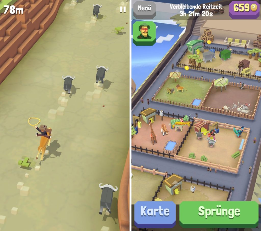 App-Tipp: Rodeo Stampede – Sky Zoo Safari