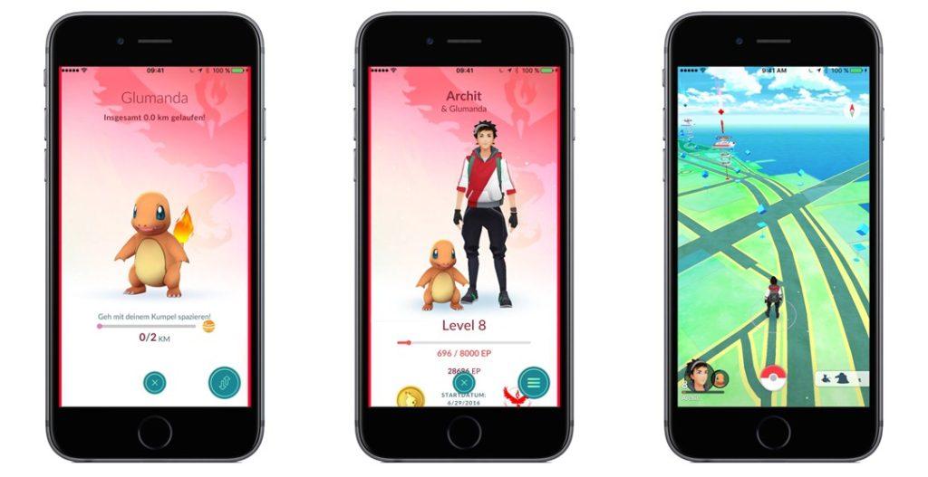 Pokémon GO: Kumpel-Pokémon kommen
