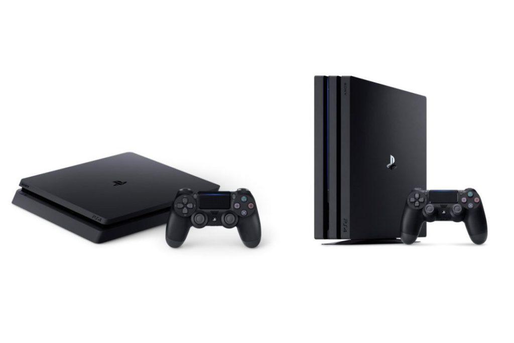 Sony PlayStation 4 Pro und PlayStation 4 Slim