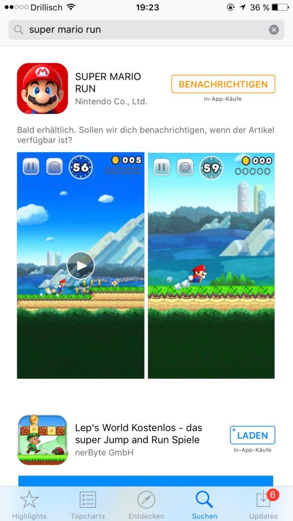 Super Mario Run für iOS