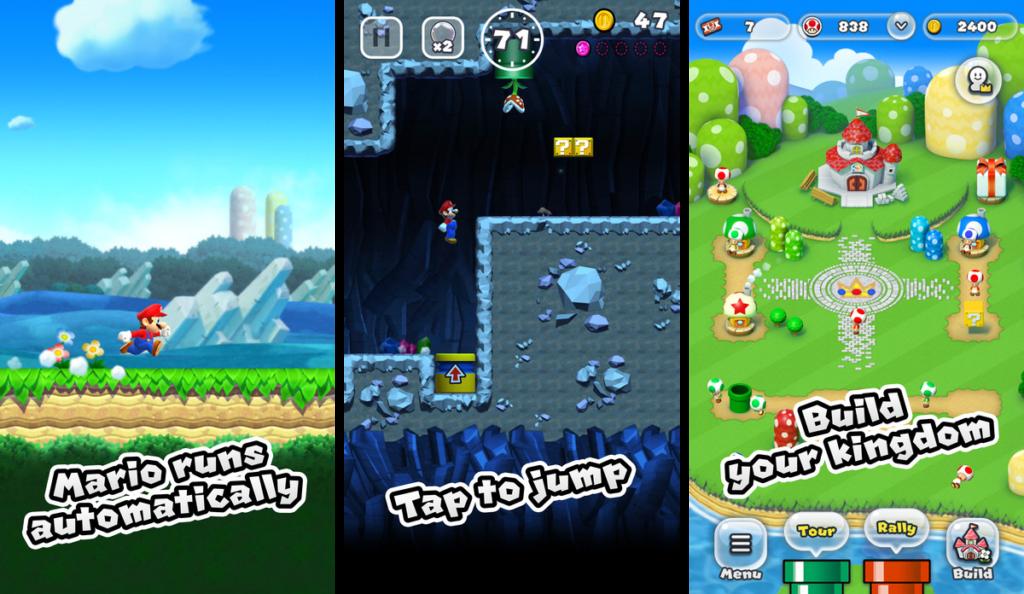 Super Mario Run für iOS (Knizzful)