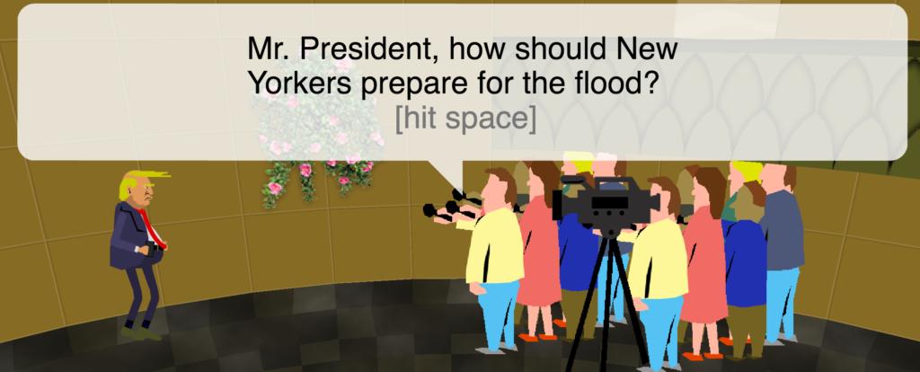 Super Trump Run Browsergame