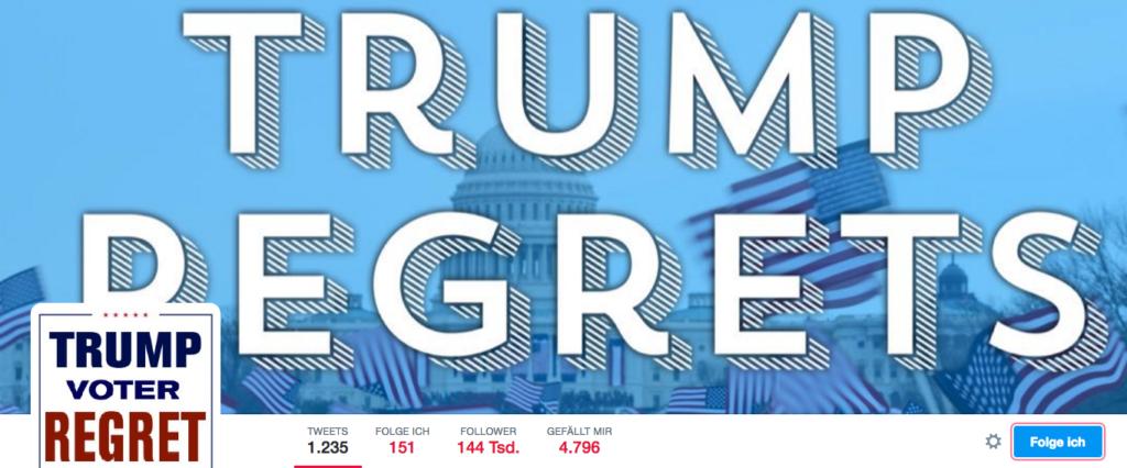 Twitter Trump Regrets