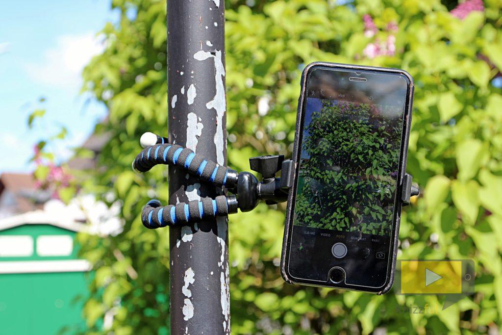 Arkon - Flexibles Stativ mit Universalhalterung für Smartphones