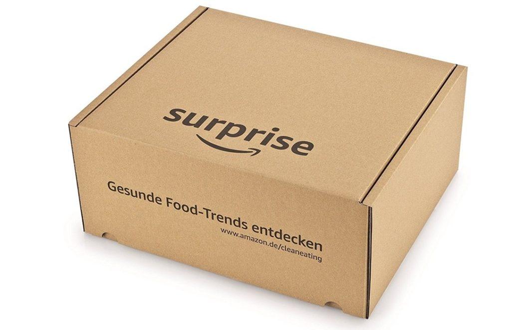 Amazon: Surprise-Box mit Food-Trends startet in Deutschland