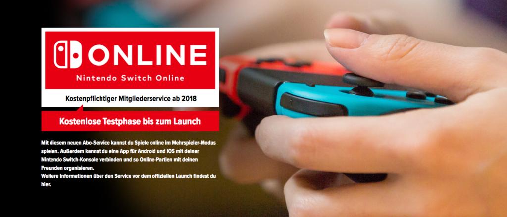 Nintendo Switch Online Service Deutschland