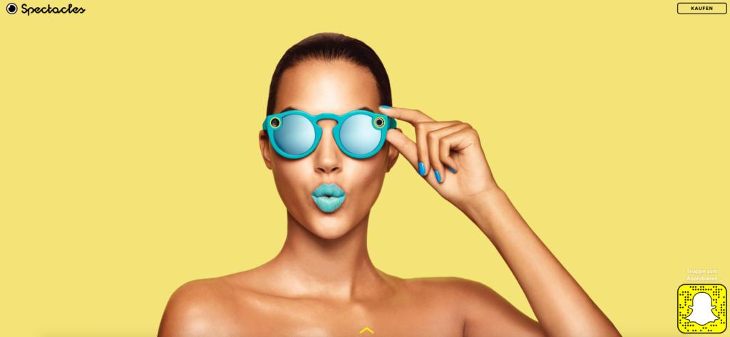Snapchat Spectacles jetzt auch offiziell in Deutschland erhältlich