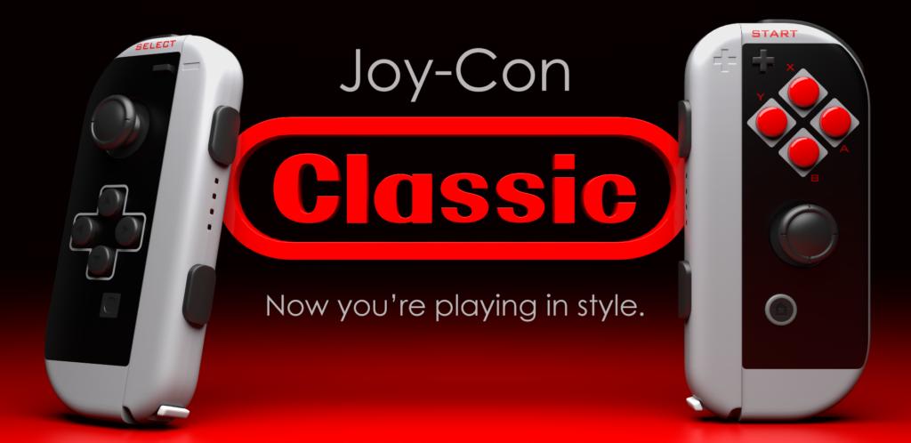 Nintendo Switch Joy-Con im Retro Design / NES Design von ColorWare
