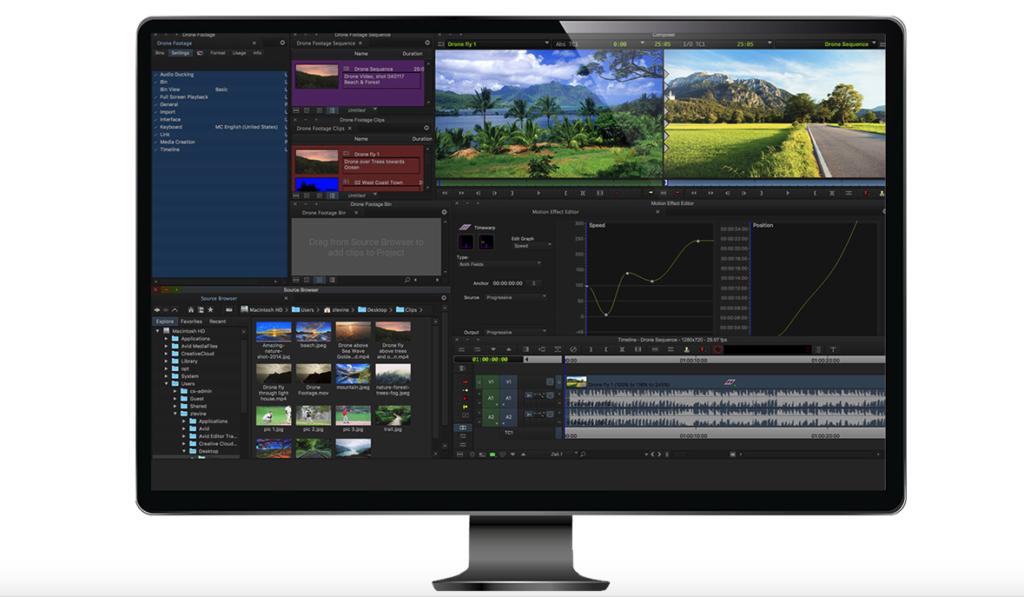 Media Composer First: Kostenlose Videoschnittsoftware von Avid