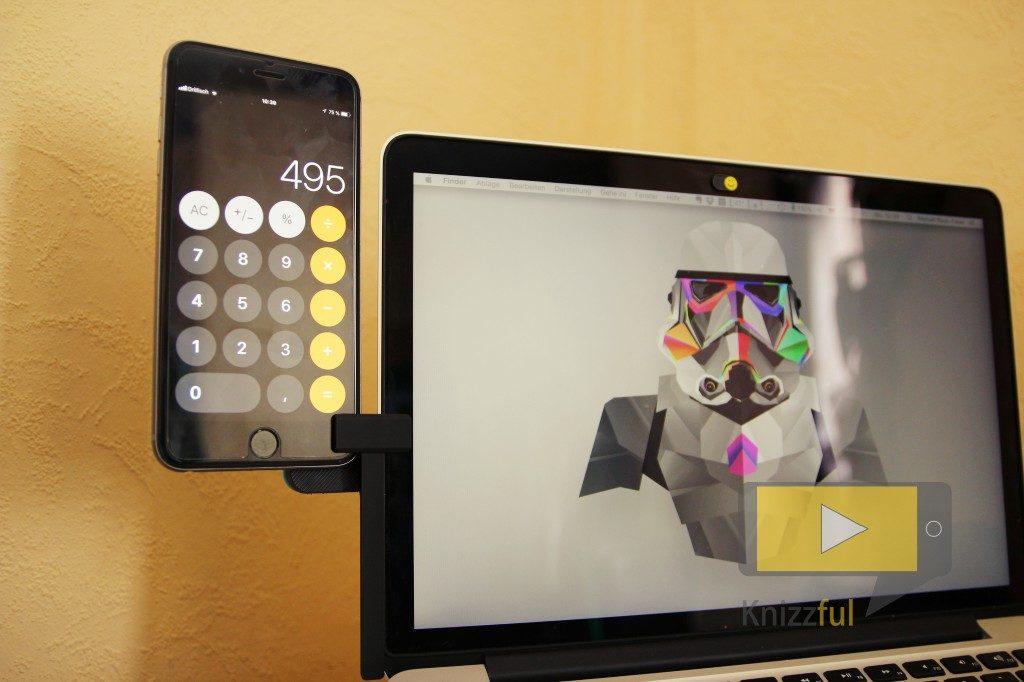 Ten One Design - Mountie Clip Halterung für den Laptop